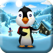 盆骨飞翔的企鹅为孩子!:难忘寒冷冒险在土地冻结 1.11