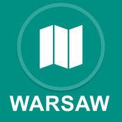 华沙,波兰 : 离线GPS导航 1