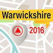 Warwickshire 离线地图导航和指南 1