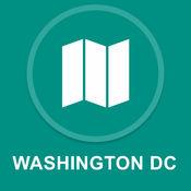 美国华盛顿特区 : 离线GPS导航