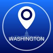 华盛顿离线地图+城市指南导航,旅游和运输 2.5