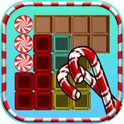 糖果块益智游戏 - 好玩的脑筋急转弯狂热与七巧板匹配块 1