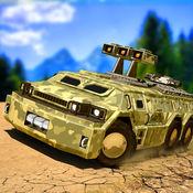 美国陆军6x6越野:卡车驾驶模拟器游戏 1