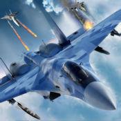 美国陆军空军狗战斗作战:3D飞行游戏 1