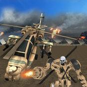 US军队直升机机器人改造:摧毁敌人 1