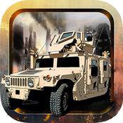Euro Truck Shooter 美国军队卡车战争驱动民间战斗: 赛车