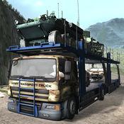 美国军队多卡车运输 — — 疯狂的货物驱动器 1