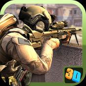 美国陆军狙击手射击游戏3D - 突击队刺客2017 1