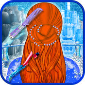 时尚冰女王发型沙龙 — — 美丽的皇后,魔术美容美发沙龙展