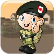 美国军队像素落帝国 - 疯狂的士兵疯狂跳水 FREE 1