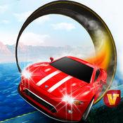 至尊汽车驾驶模拟器 - 在山顶公路疯狂的赛车特技 1