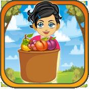 水果疯狂冲刺碰撞 - 快速捕捉游戏的孩子 Free 1