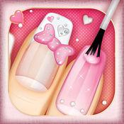 美甲沙龙游戏:美容化妆 - 指甲艺术温泉女孩子的游戏 1.3