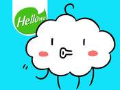 Hellowe表情贴纸: Funny Cloud 1