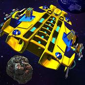 小行星与行星碰撞 - 太空射击多人 1.1