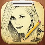 铅笔素描专业版 - 卡通人物油画效果美图相机 5.5