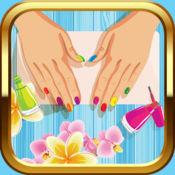 钉女孩指甲油游戏 – 可爱的美甲设计思路和美容院免费 1