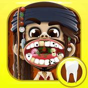 船长海盗牙医 - 牙玩游戏的孩子们 1