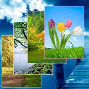 iPhone,iPod和iPad的自然风景壁纸和背景