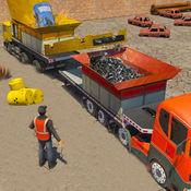 破碎机怪物卡车司机和起重机模拟器 1.3
