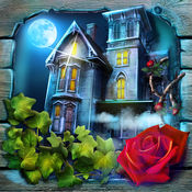 隐藏的物体游戏鬼屋 - 自由拼图和神秘 1