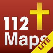 112圣经地图圣经研究与评论。免费。