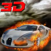 激烈的汽车驾驶3D - 真正的高速汽车漂移扣杀和涡轮赛车的