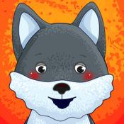 搞笑动物!教育游戏儿童及婴儿:逻辑,计数,颜色,金额。开发学龄前