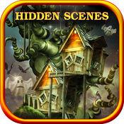 隐藏的场景: 担心房子-输入与过去的免费游戏 2015 年鬼鬼