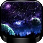 夜空壁纸 -  超高清月亮和星星 背景主屏幕或锁屏 2