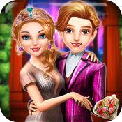 高中庆祝舞会女王日期晚上 - 女孩和男孩的派对舞蹈游戏 1.