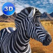 斑马模拟器3D - 非洲马生存 Full 1.21
