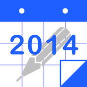 PolyCalendar 2014 - 时间表和手写 - 1.6.1504