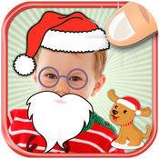 圣诞照片贴纸和胶标签儿童 3