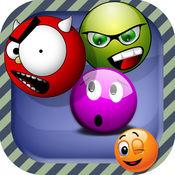 Emoji Shooter - 激动人心的泡泡射击孩子的益智游戏与五颜