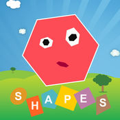宝宝认形状 - 宝贝快乐学习常见的形状, 儿童早教学数学 -