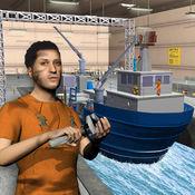 货船机械模拟器3D:车间车库 1