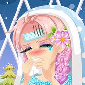 爱莎感冒治疗-冰雪女王淋雨感冒治疗 1.2