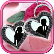 小盒框架 爱情图片 – 过滤您的照片和添加甜蜜贴纸 1