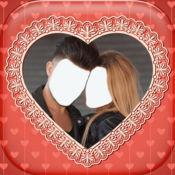热恋中的情侣照片展台 1