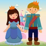 Princess Coloring Book 手指画 公主 小王子 1