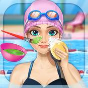 小公主游泳&SPA - 女孩美容免费游戏 1.0.0
