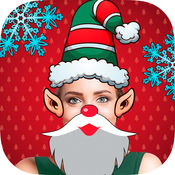 Snap圣诞 - 脸编辑器 1