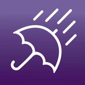 伞时间:雨通知和每小时天气预报 1.2