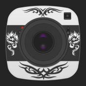 文身贴纸相机 — 在照片和图片上PS最潮最炫的纹身图案 1