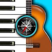 和弦罗盘:找到钢琴,吉他等各种不同乐器的和弦! 1