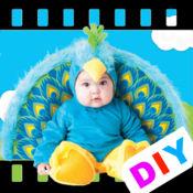 DIY宝宝图卡 - 小鸟 1