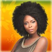 非洲式发型和脏...