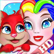 宝宝画动物: 萌萌动物园涂色本 - 游戏 HD 1