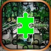 花园拼图游戏 –...